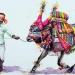 L'Inde en dessins 5 La vache décorée
