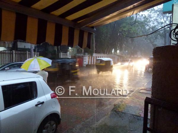 Mumbai during monsoon...