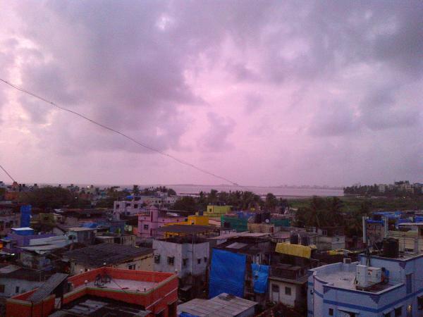 60 - A monsoon sunset