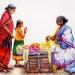 L'Inde en dessins 9 Vendeuse de fleurs