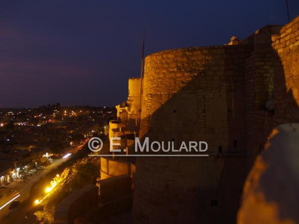 Le fort de Jaisalmer, la nuit