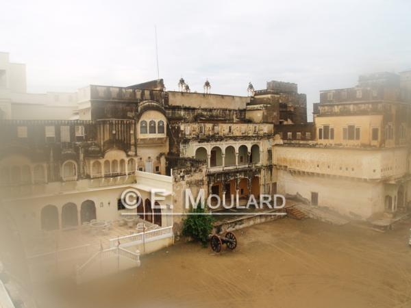 Le fort / hôtel de Mandawa (Shekawati)