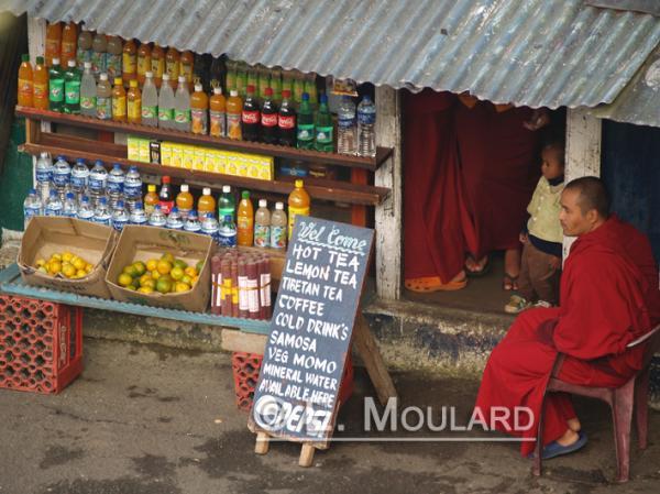 Le moine vendeur de boissons