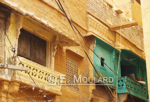 Chaï-Journal dans le fort de Jaisalmer