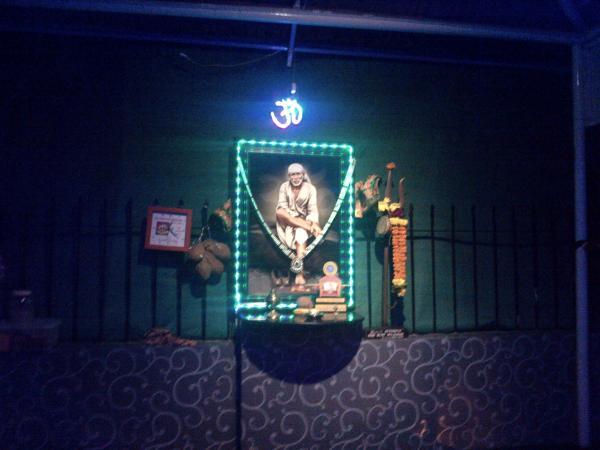 2 - Shirdi Sai Baba on Khar Danda