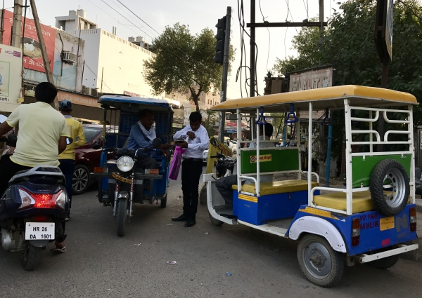 Day 9 - Rickshaws