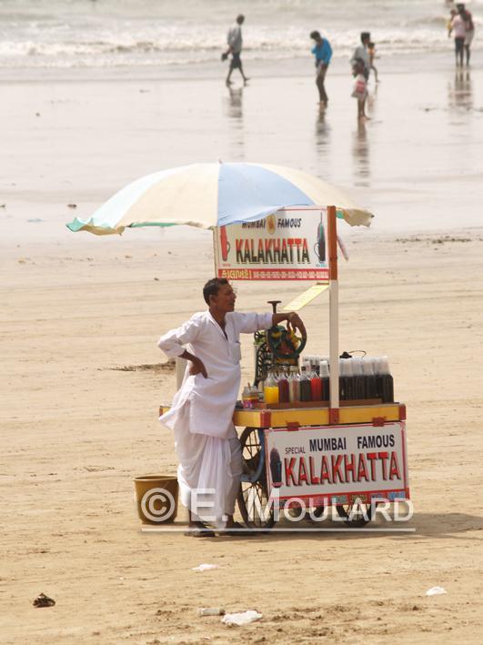 Un après-midi à Juhu beach