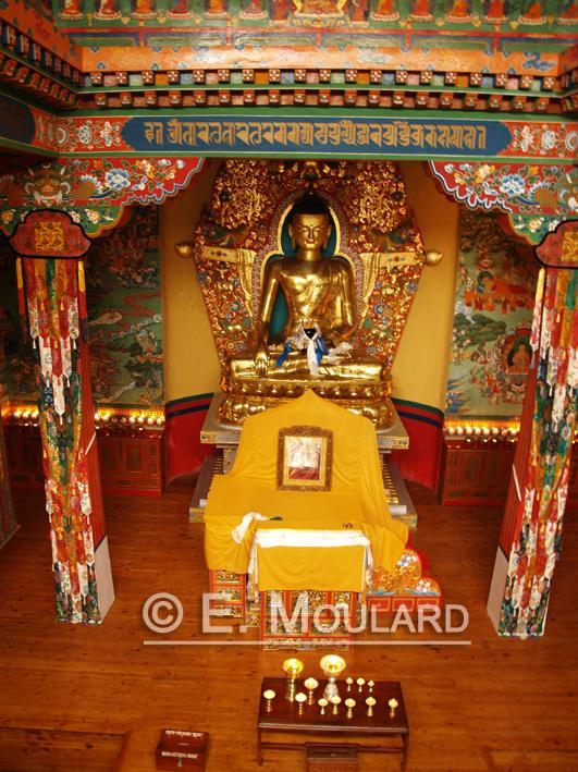 Temple bouddhiste à Mc Leod Ganj