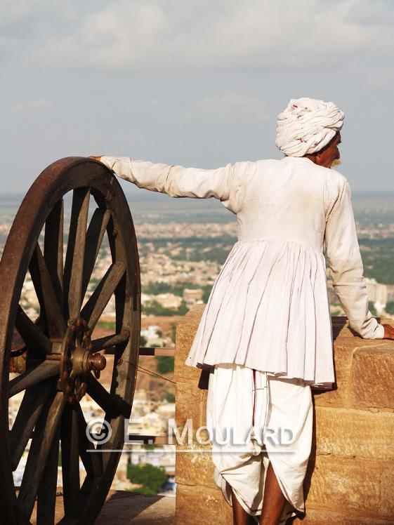 Vieux admirant Jodhpur