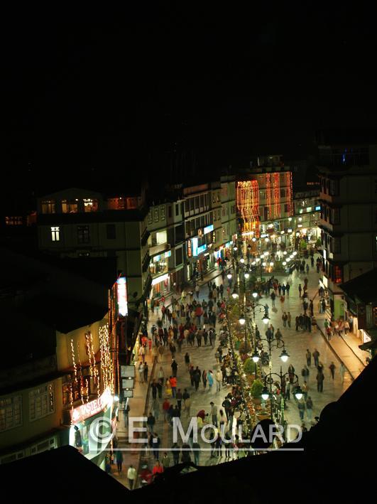 La Grand-rue piétonne de Gangtok