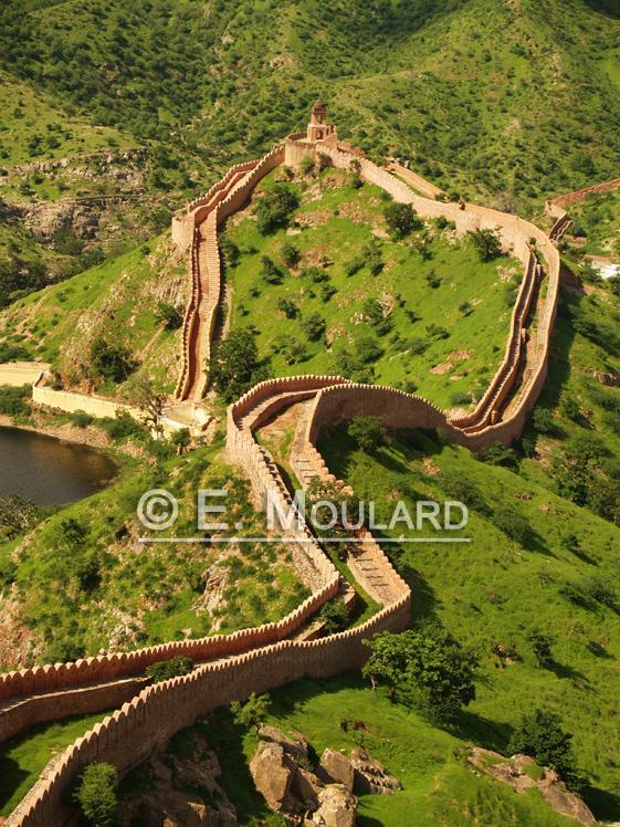 Vue depuis le Jaigarh fort à Jaipur