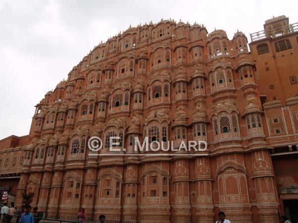 Le fameux palais des vents à Jaipur