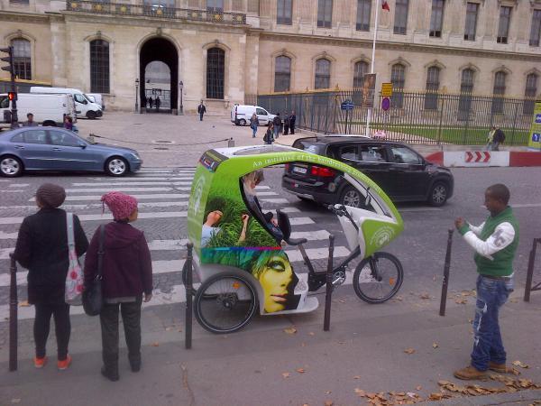 115 - Parisian rickshaw