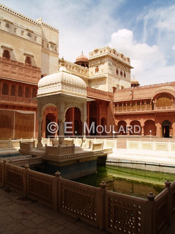 Le palais de Bikaner