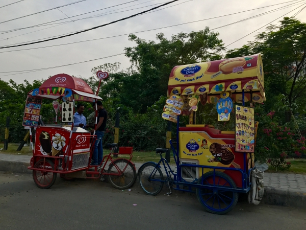 Day 2 - Ice cream carts in Gurgaon summer