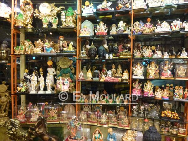 In an idol shop