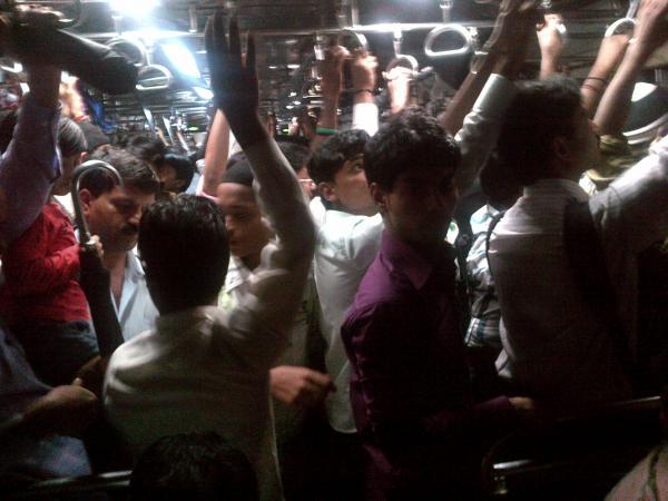 58 - In Mumbai local train