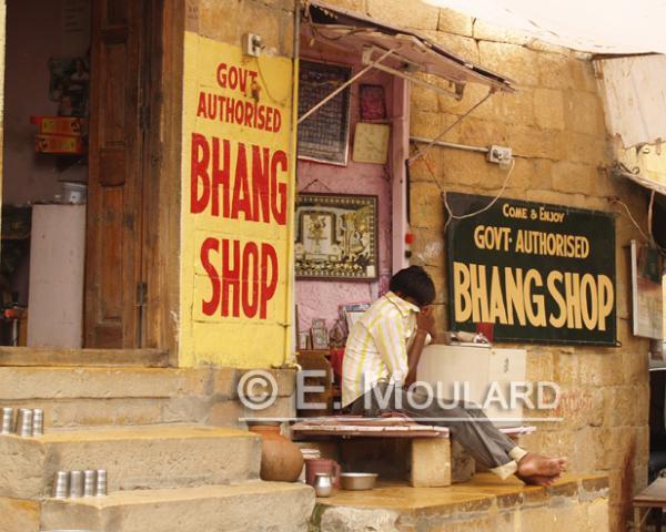 Bhang shop à Jaisalmer