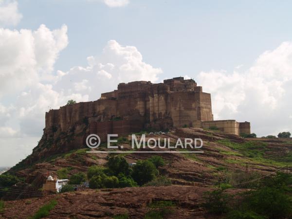 Le Mehrangarh Fort à Jodhpur