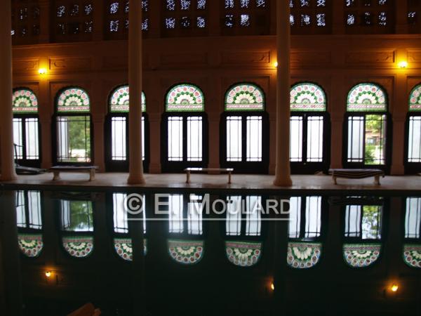La piscine du Lalgarh palais / hôtel