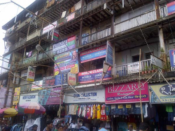 87 - Mumbai old buildings