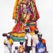 L'Inde en dessins 13 Le dieu en procession