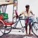 L'Inde en dessins 2 Cycle-rickshaw