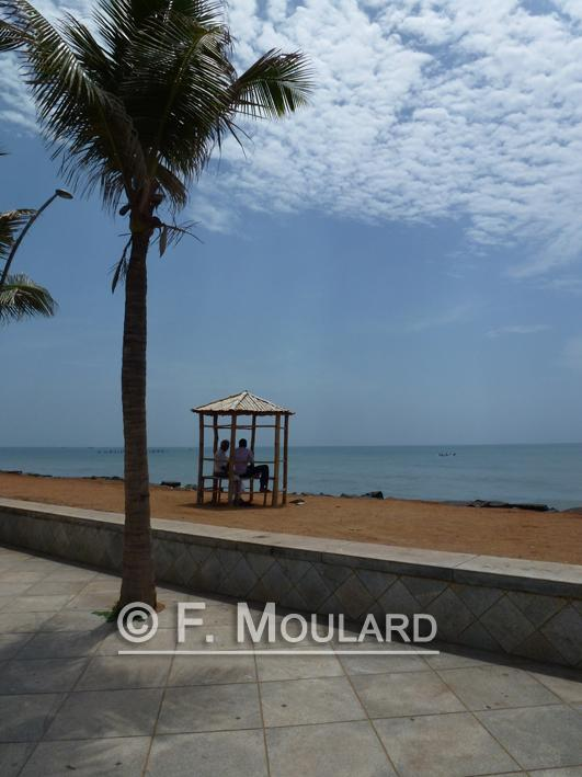 Pondicherry plage