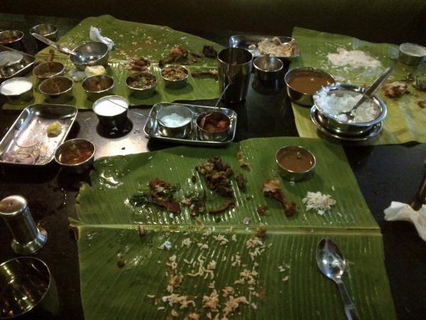 Lunch in Chennai