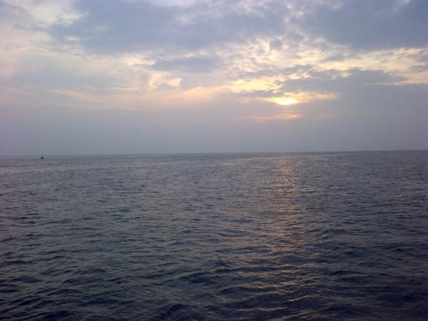 193 - Sunset in Maldives